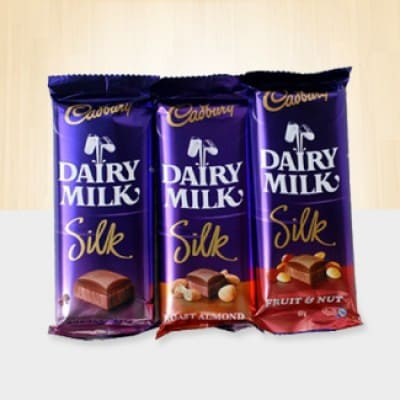 3 Dairy Milk Silk