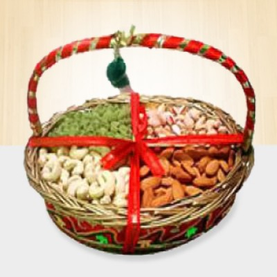 2 Kgs Mixed Dry Fruits in a Basket