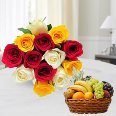 Fruits with Roses