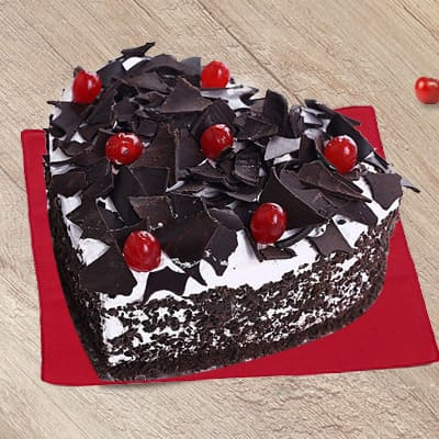 Heart Shape Blackforest