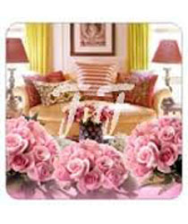Room full of Pink Roses